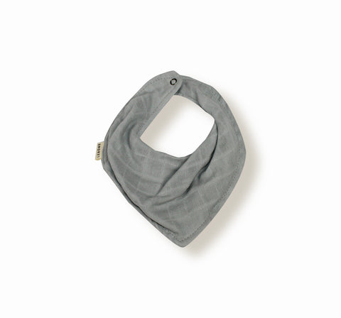 Scarf Bib Edgar by Lebome - Light Grey