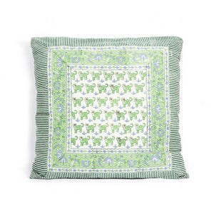 Cushion cover Vito - Tiger by Brai - Green