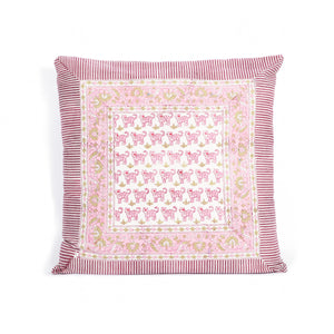 Cushion cover Vito - Tiger by Brai - Pink