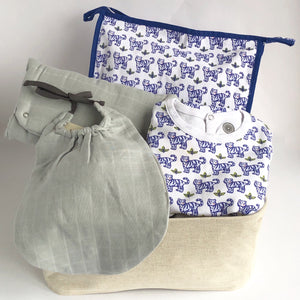Baby Blue Tiger Hamper