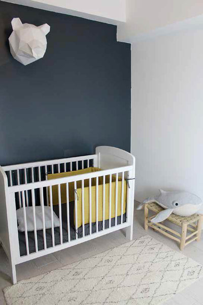 Bed bumper Gabriel by Lebome - Light grey