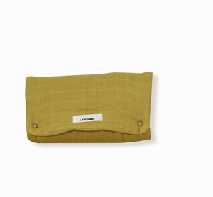 Travel Changing mat Oscar by Lebome - Mustard