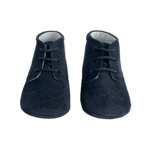 Pre-Walker Ankle Boots by Beberlis - Navy Blue