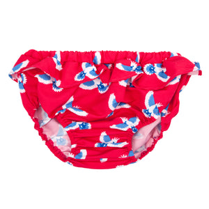 Swimsuit bloomer for girl  by Happy Duck - Red Flying Parrot