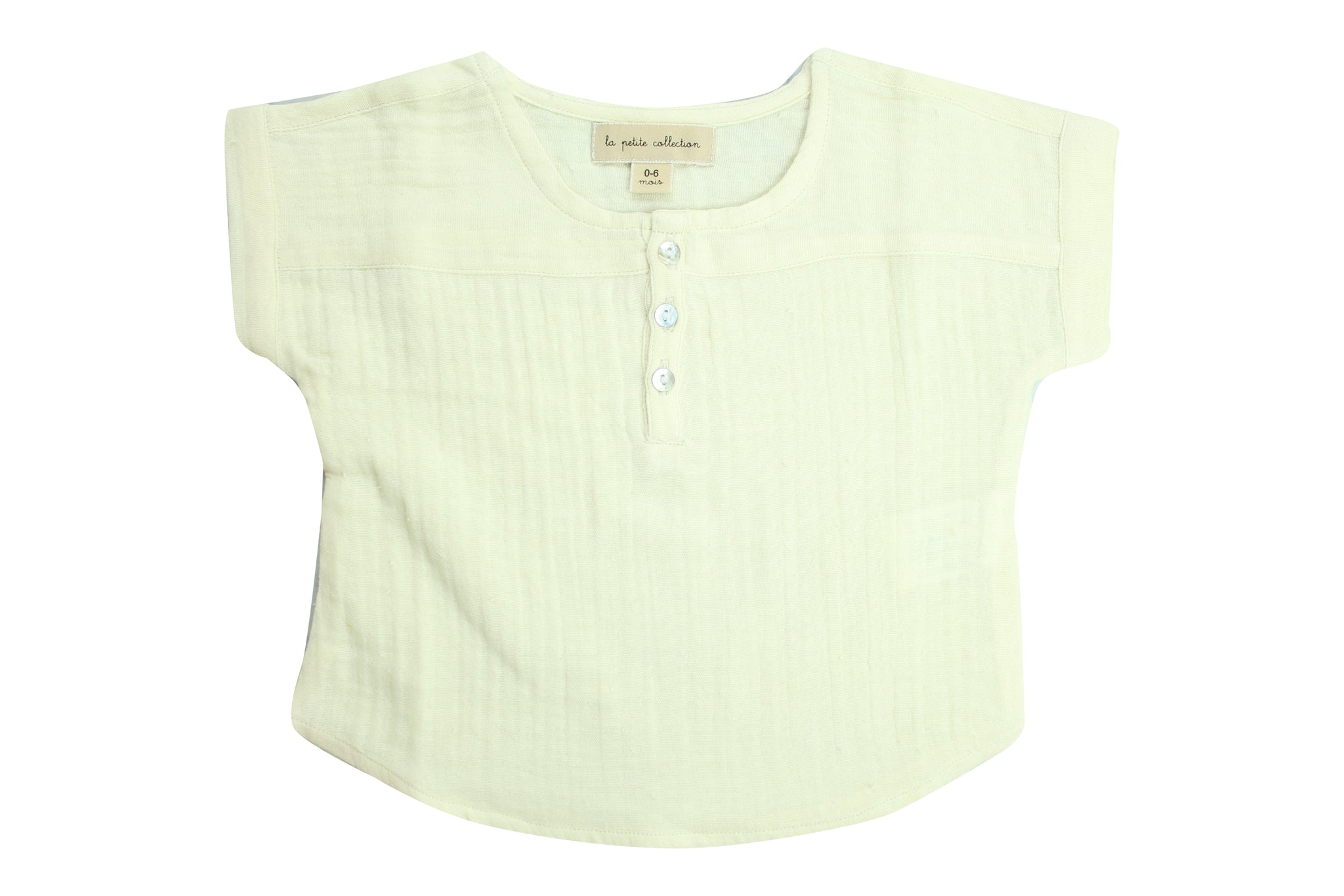 Blouse T by La Petite Collection - Vanilla