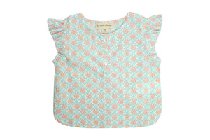 Flounced Blouse by La Petite Collection - Mortimer Liberty of London