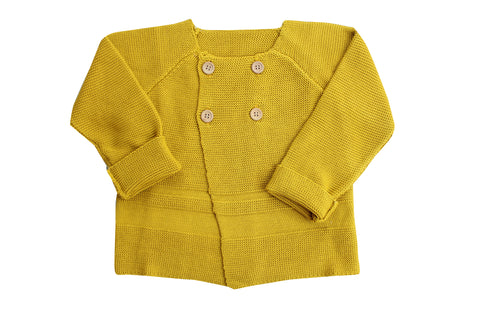 Cardigan by La Petite Collection - Mustard