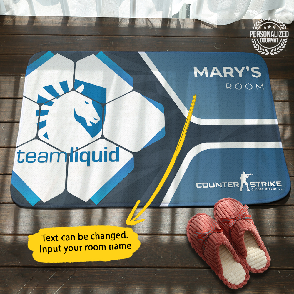 Personalized Liquid Doormat