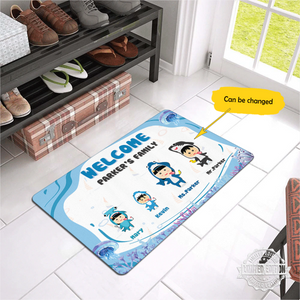 Personalized Baby Shark Doormat