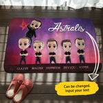 Personalized Astralis Team Doormat