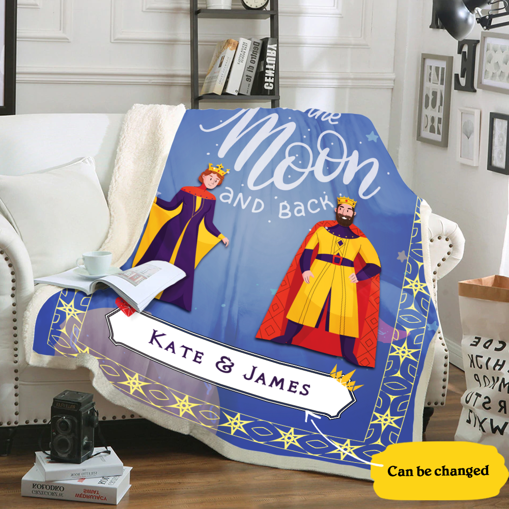 Royal Personalized Blanket