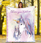 Unicorn Personalized  Blanket