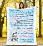 Plush Blanket - Granddaughter - Love You Forever