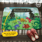 Personalized Dinosaur Doormat
