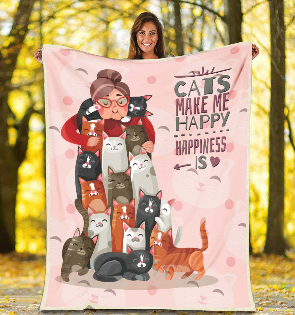 Cats Lover Blanket