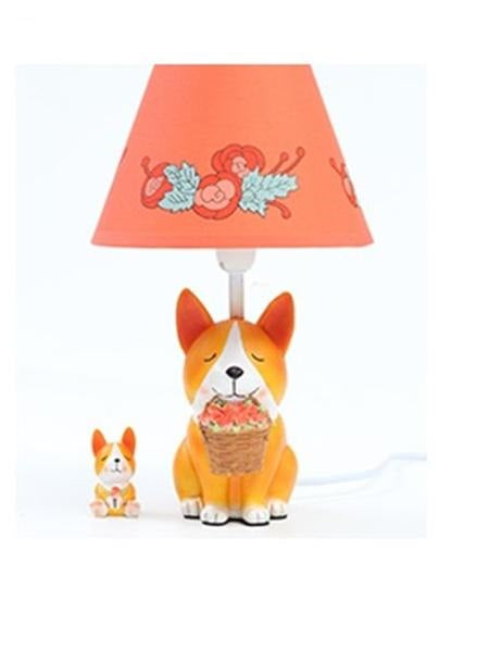 Cute Corgi Puppy Table Lamps