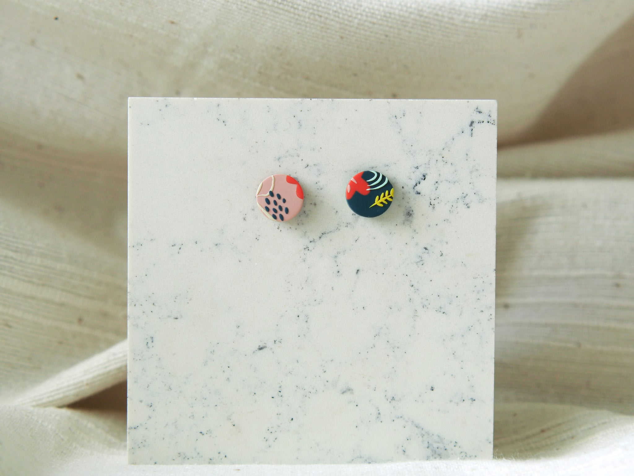 Poetry of Autumn Studs (Regular Mismatched)