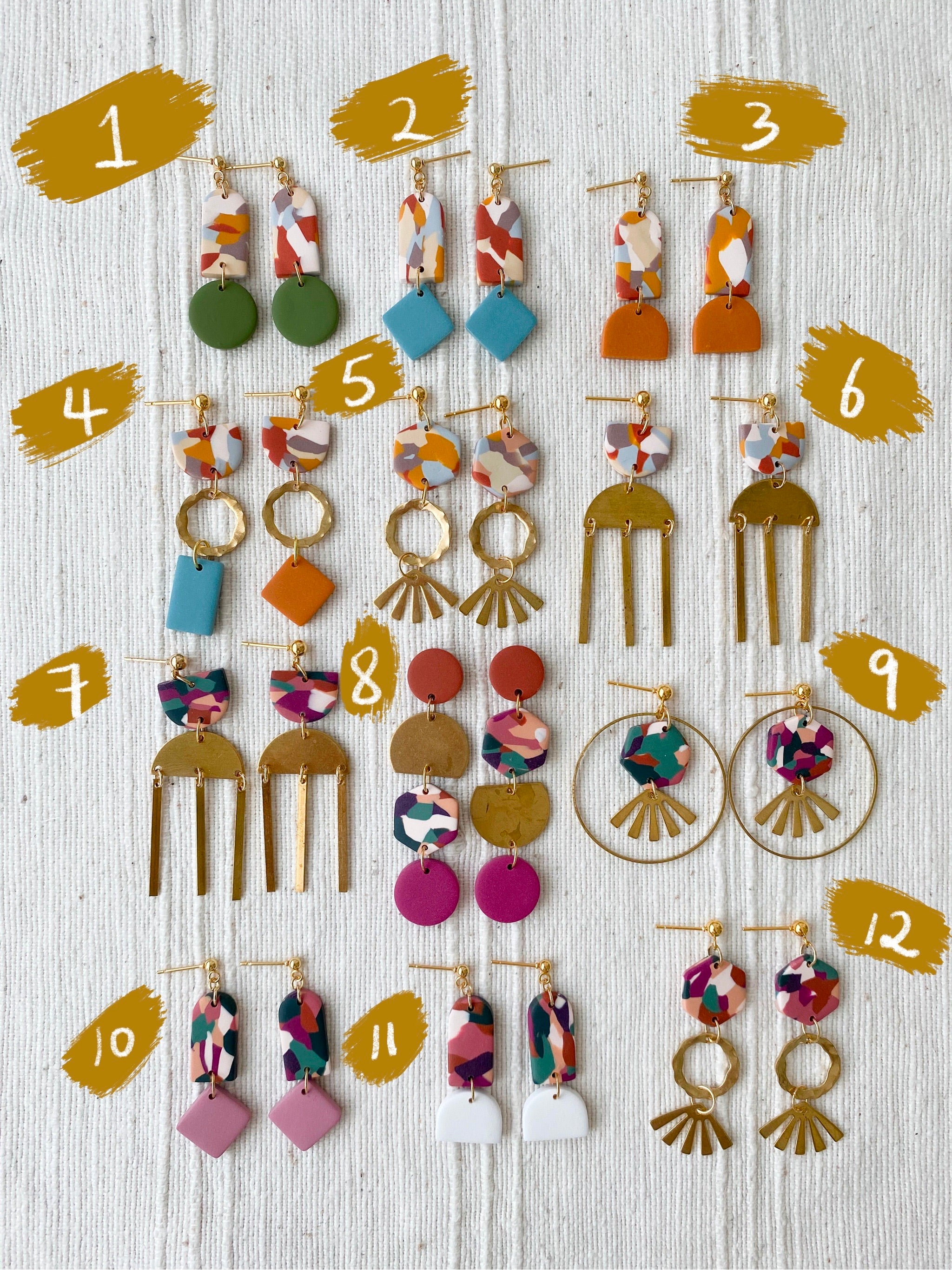 SECONDS Dangle Earrings (IV)
