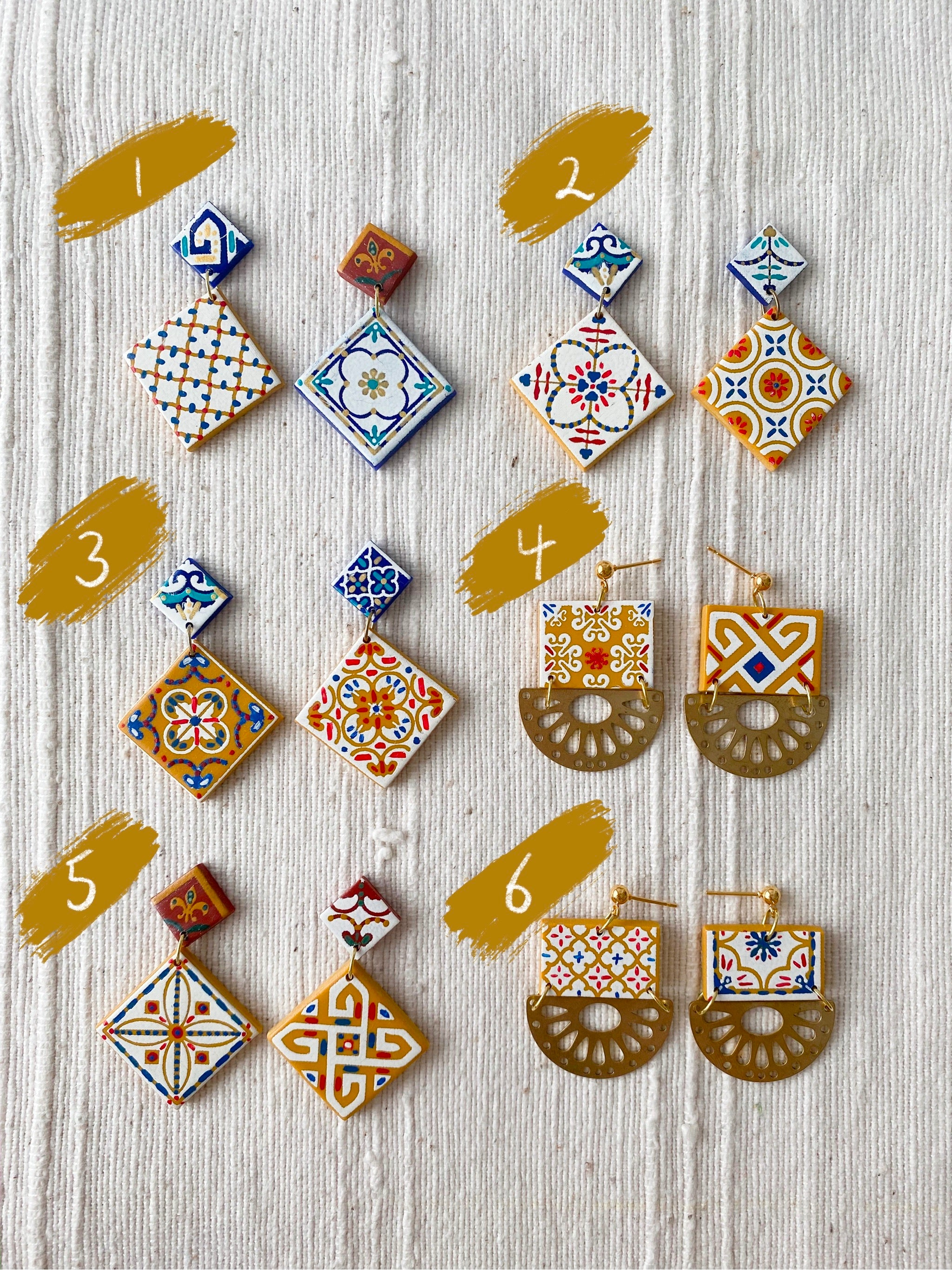 SECONDS Tile Dangles