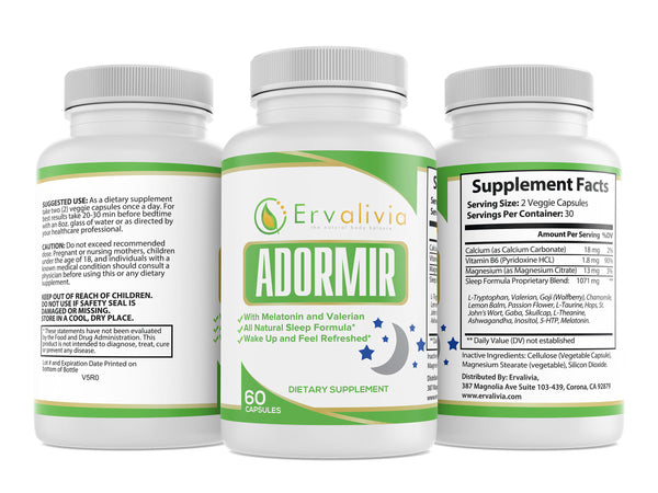 Adormir - Natural Sleep Aid Supplement