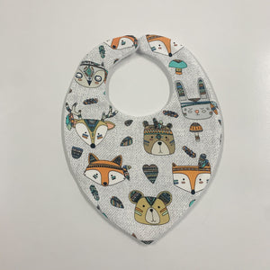 Tribal Animal Head Bibs