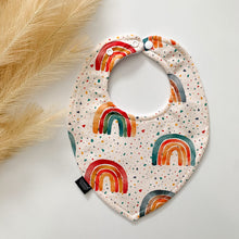 Load image into Gallery viewer, Xmas Rainbow Bibs