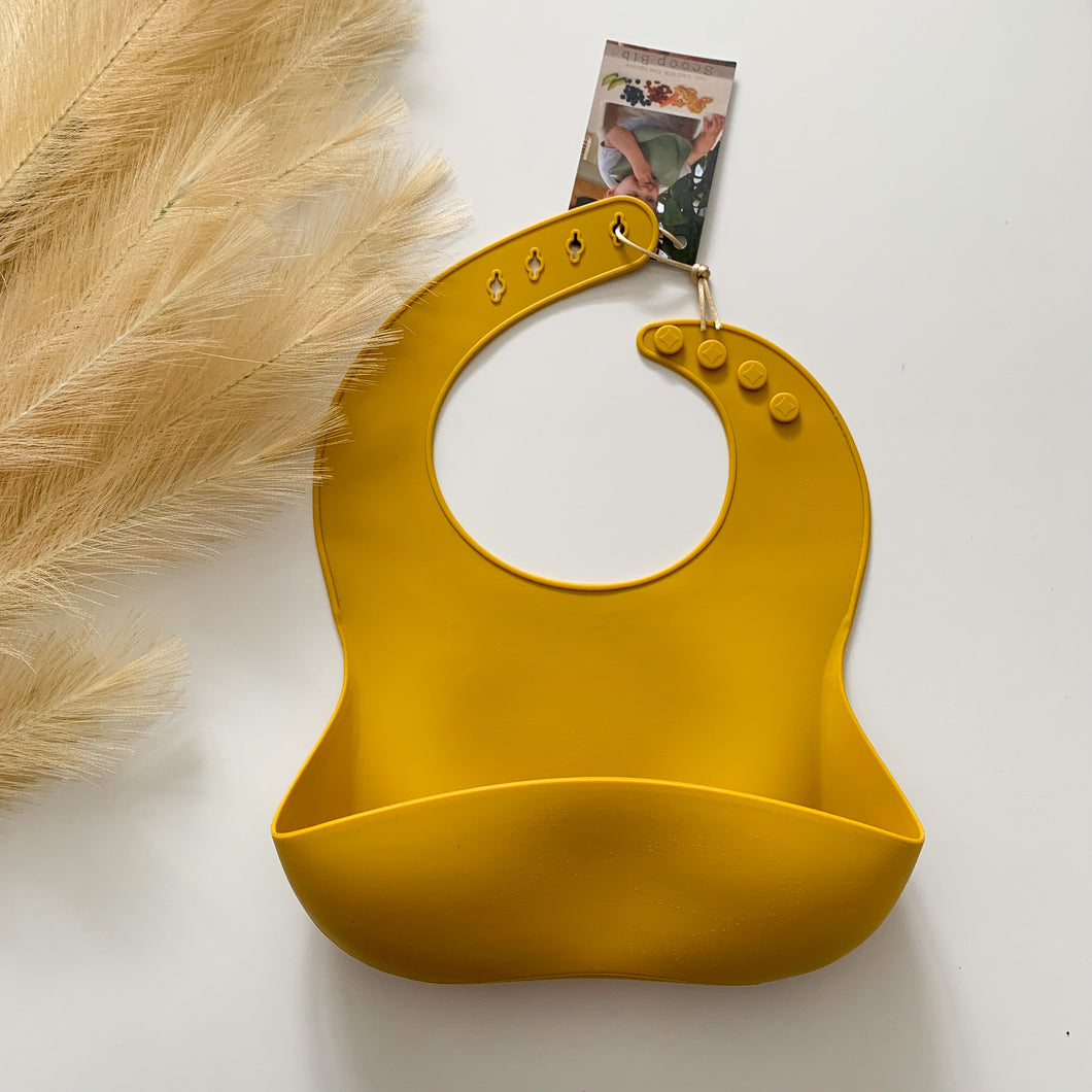 Silicone Scoop Bibs