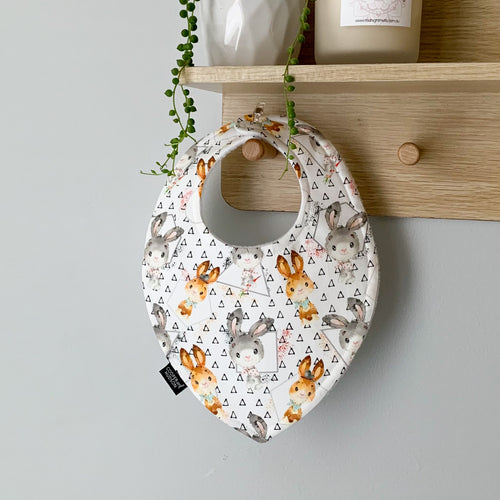 Triangle Bunny Bibs