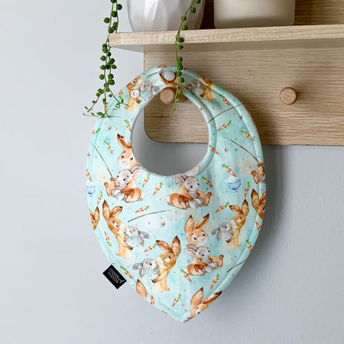 Bunny Friends Dribble Bib