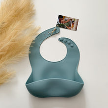 Load image into Gallery viewer, Silicone Scoop Bibs