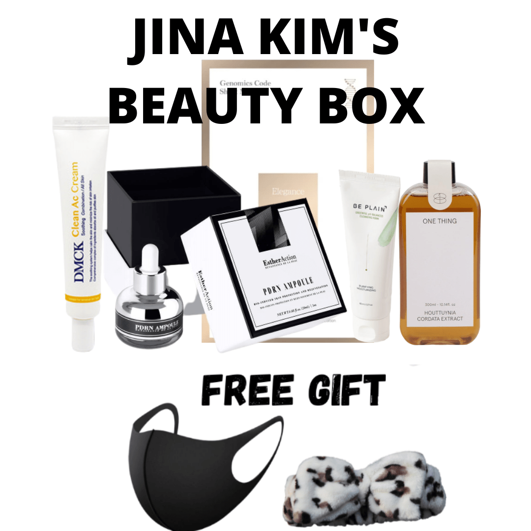 JINA KIM'S- SGM  BEAUTY BOX - sgmkorea