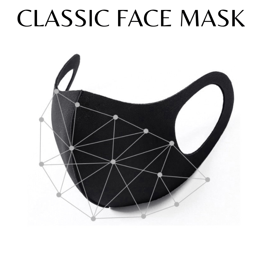 Classic Face Mask ( Black )