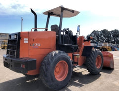 HITACHI LX70-1 , 7 TON WHEEL LOADER 3012 HOURS