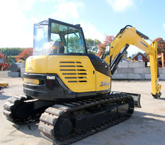 YANMAR SV100-1 10TON 2012 EXCAVATOR WITH 3684 HRS BLADE
