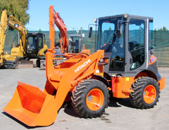HITACHI ZW40 ,FULL CAB WHEEL LOADER VERY LOW HOURS 00429.4