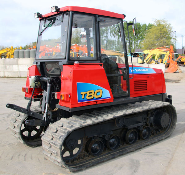 YANMAR CT-80 TRACTED TRACTOR LOW HOURS