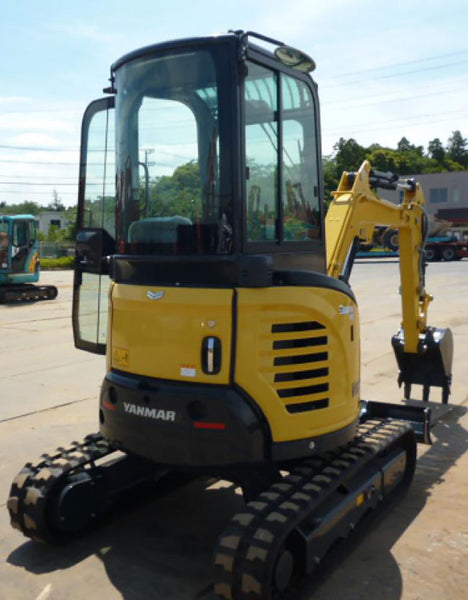 YANMAR VIO25-6 BRAND NEW 2017 FULL CAB