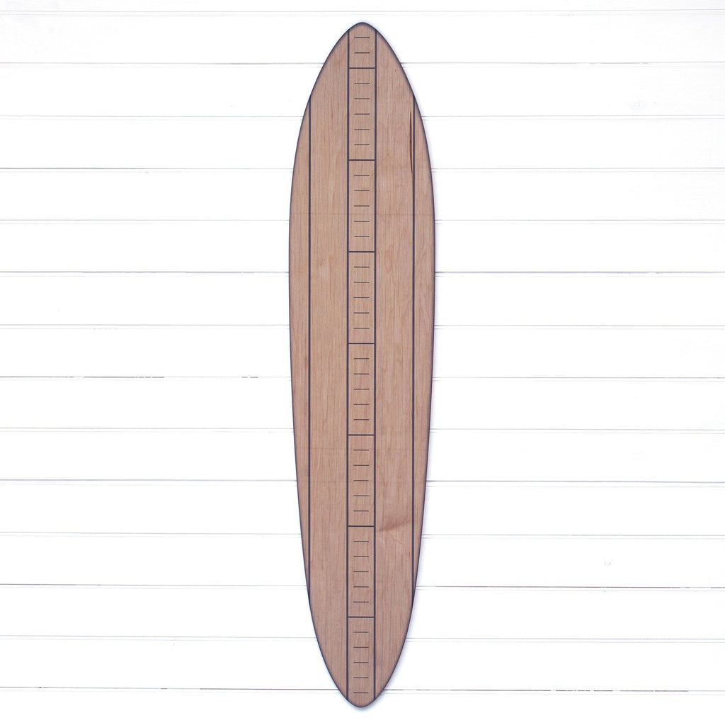 The Vintage Primaries Collection - Surfboard Growth Charts Headwaters Studio Gray No