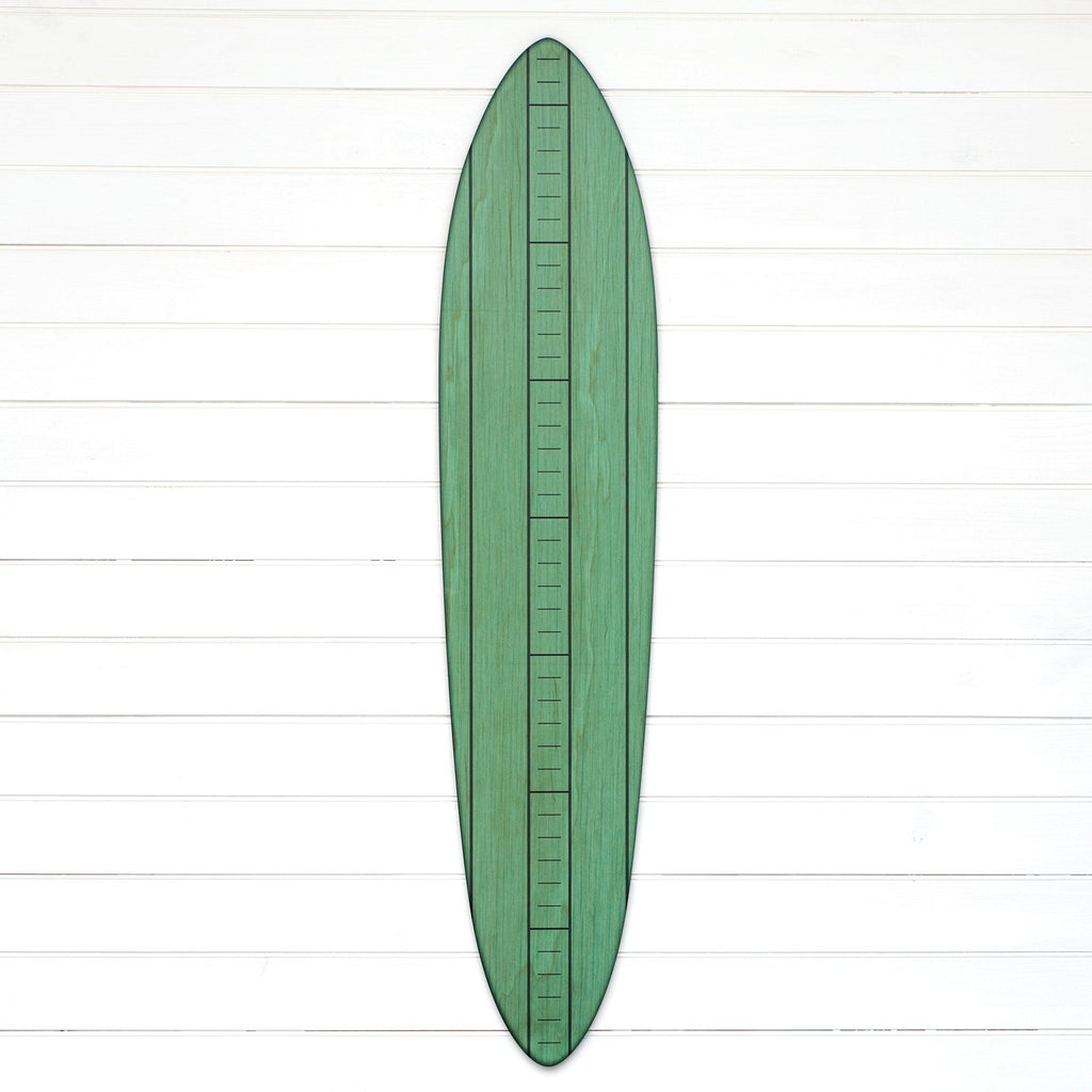 The Vintage Primaries Collection - Surfboard Growth Charts Headwaters Studio Teal No