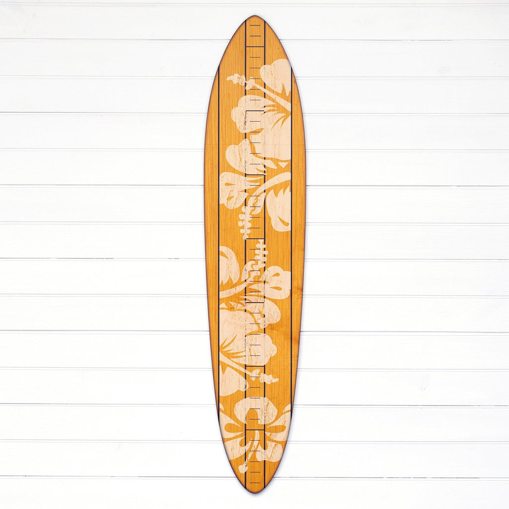 The Vintage Primaries Collection - Surfboard Growth Charts Headwaters Studio Blonde Hibiscus No