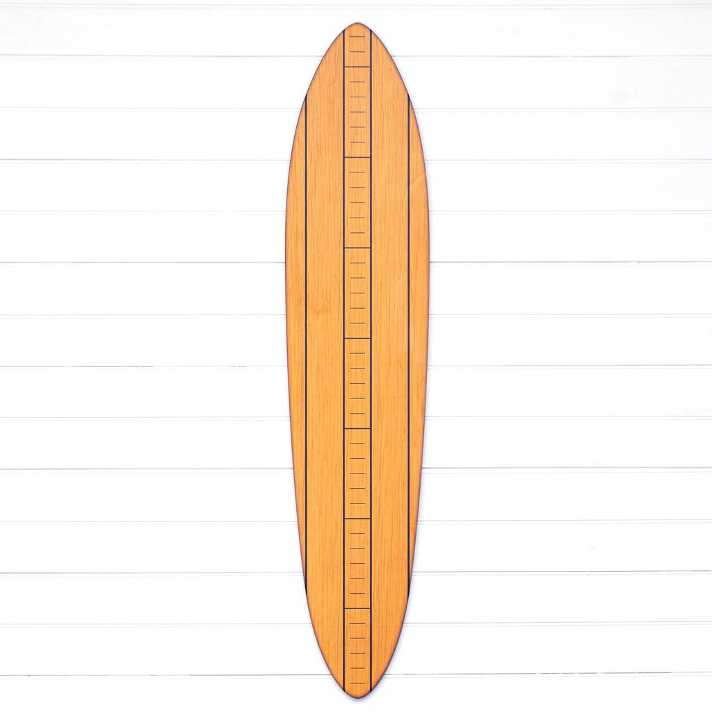 The Vintage Primaries Collection - Surfboard Growth Charts Headwaters Studio Blonde No