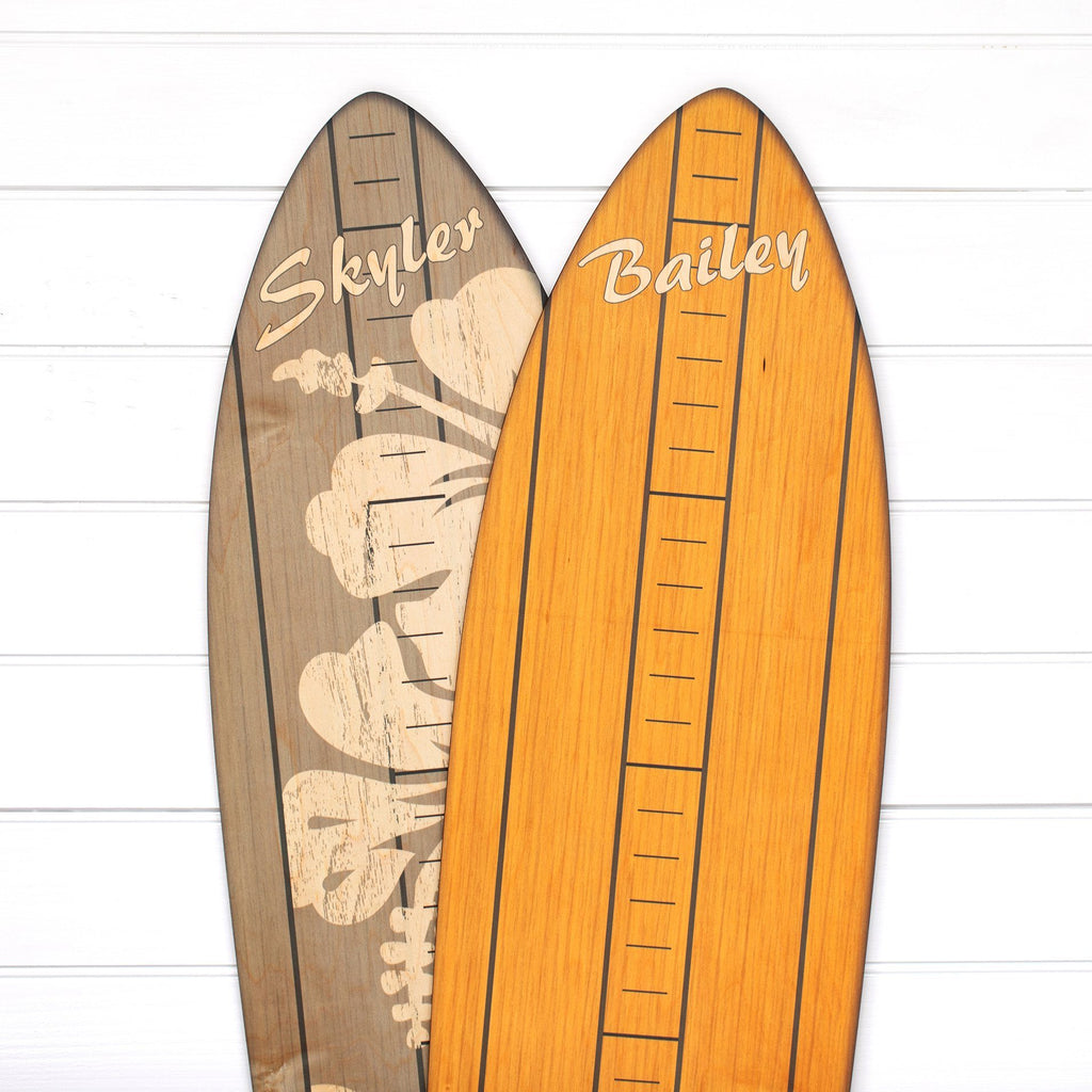 The Vintage Primaries Collection - Surfboard Growth Charts Headwaters Studio Blonde Yes