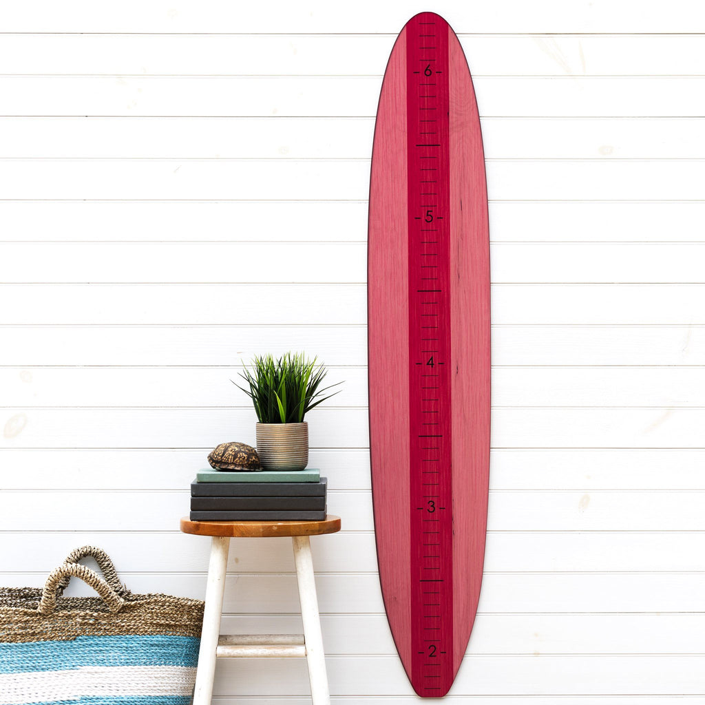 Pink Longboard Surfboard Headwaters Studio