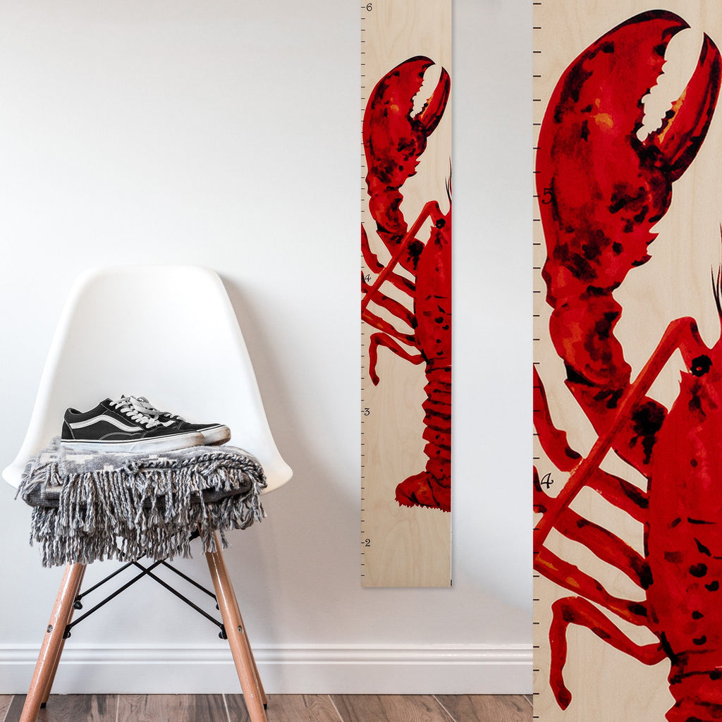 Lobster Growth Chart Growth Chart Headwaters Studio