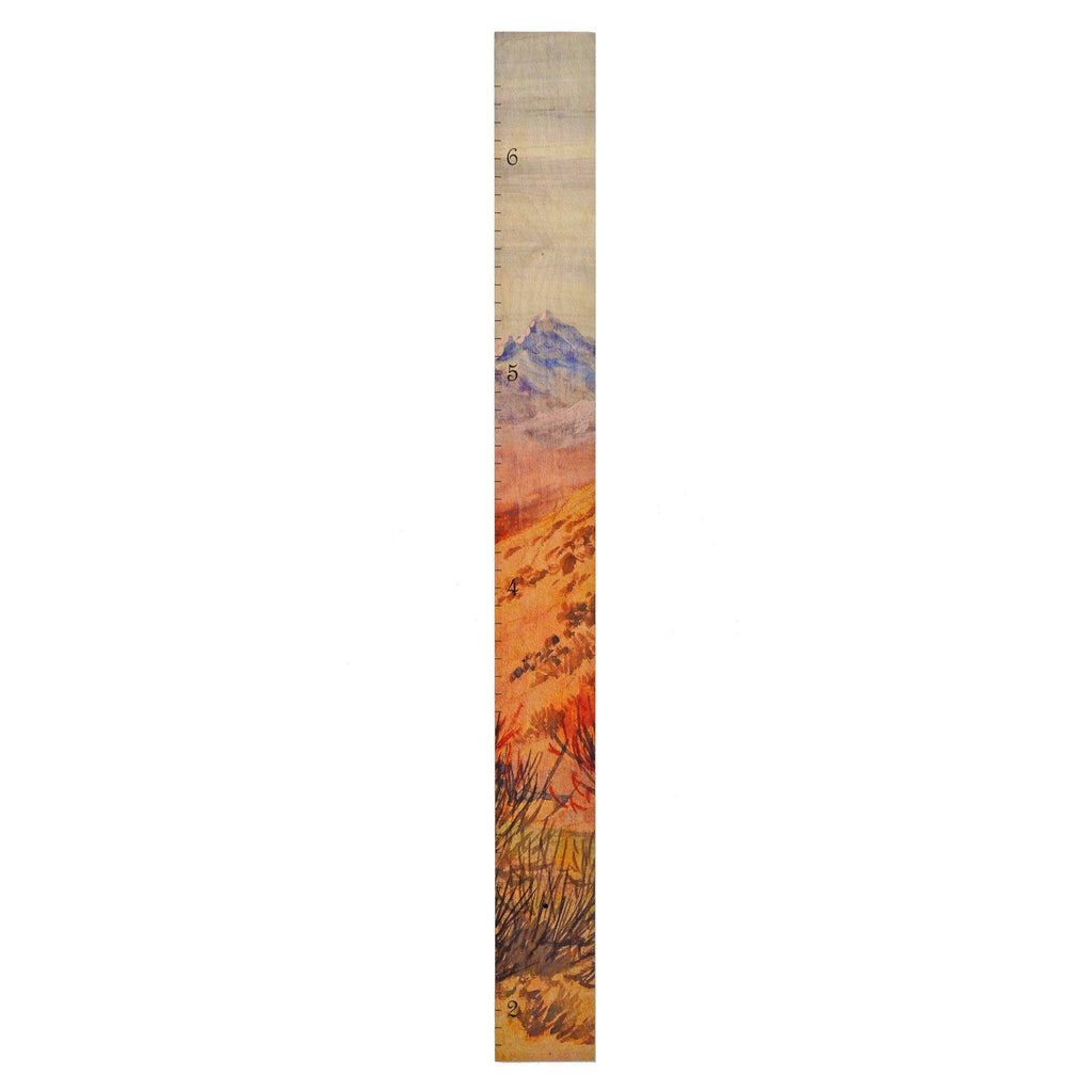 Mountain Growth Chart Growth Chart Headwaters Studio