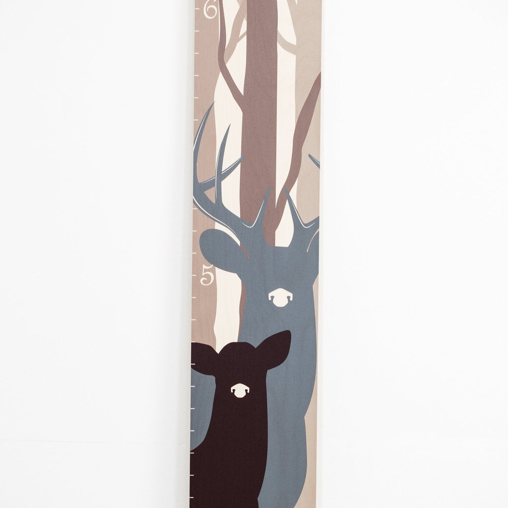 Deer Family Wood Growth Chart