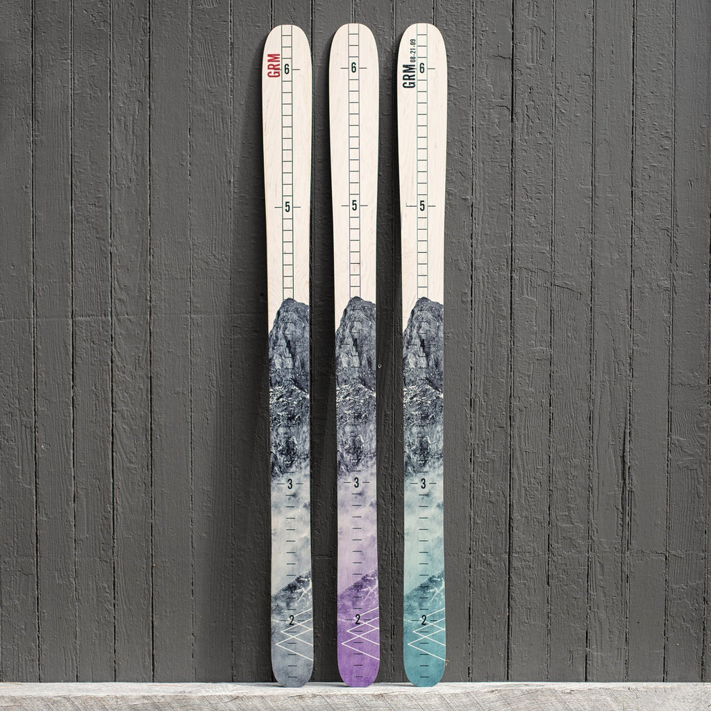 Mountain Ski Growth Chart