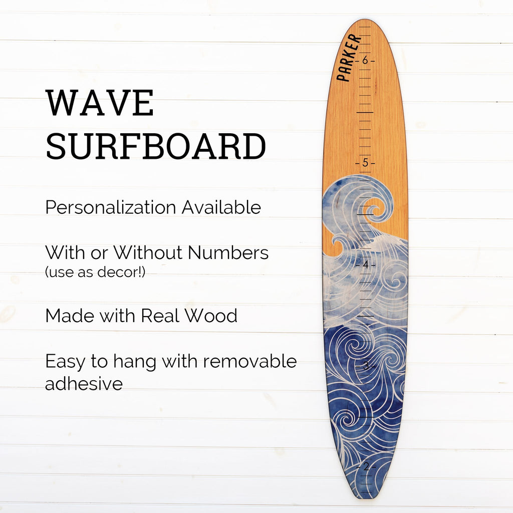 Wave Longboard Surfboard Headwaters Studio