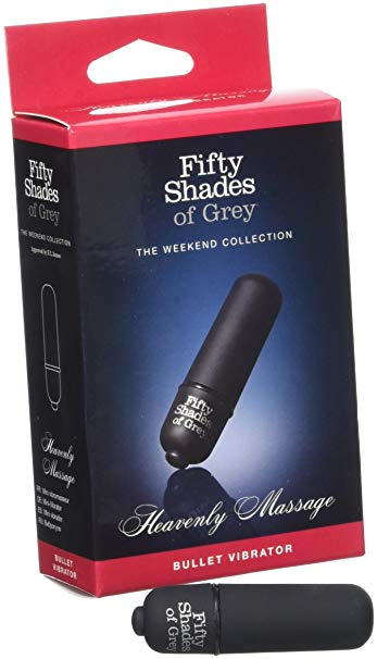 Fifty Shades of Grey Heavenly Massage Bullet........Holy Shit!!!