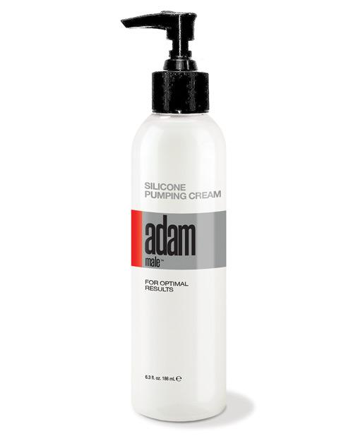 Adam Male Silicone Pumping Cream - 6.3 Oz - Omega Pleasure